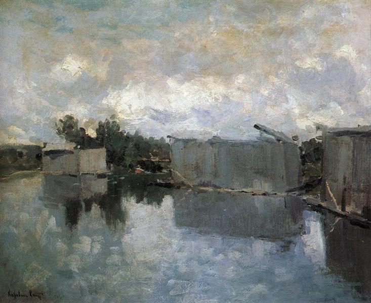 Bath houses, 1910